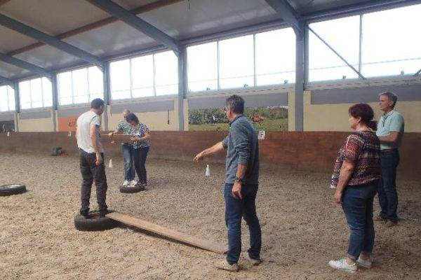 Communicatie leiderschap trainen in manege